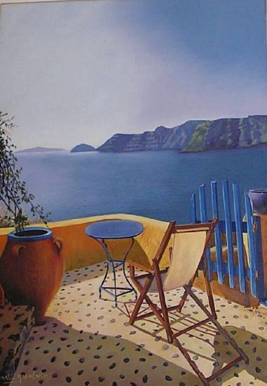 Un Lugar en Santorini